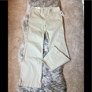 GAP, stretch modern chino, khaki